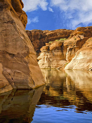 Lake Powell Stillness Art Print by Dominic Piperata
