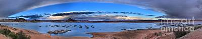 Photograph - Lake Powell Wahweap Panorama by Adam Jewell