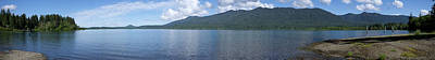 Photograph - Lake Quinault Pano by Richard J Cassato