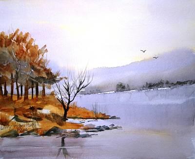 Lake Ransom Art Print