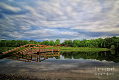 Photograph - Lake Rebecca 2 by Jimmy Ostgard