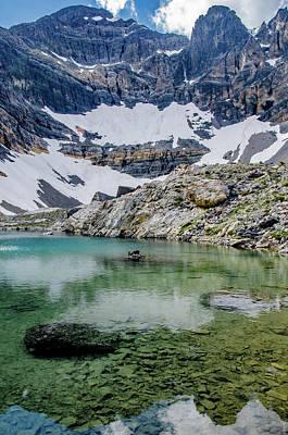 Lake Rebecca And Mount Borah 2 Art Print by Link Jackson
