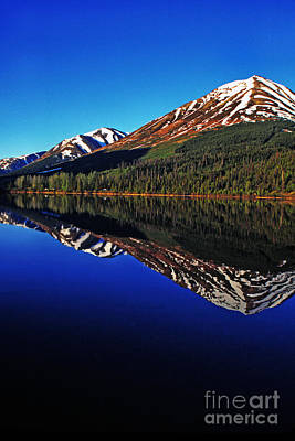 Land Of The Midnight Sun Photograph - Lake Reflection by Thomas R Fletcher