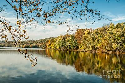 Radnor Lake Photograph - Lake Reflections. by Debbie Green