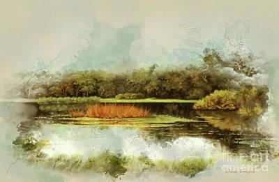 Mckethan  Lake Reflections Original