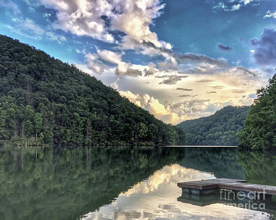 Photograph - Lake Reflections by Kerri Farley