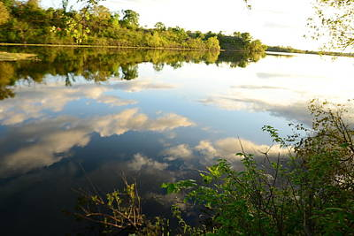 Photograph - Lake Reflections by Vonda Barnett