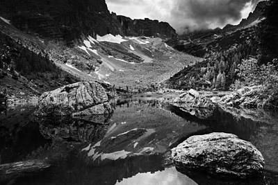 Art Print featuring the photograph Lake Reflections by Yuri Santin