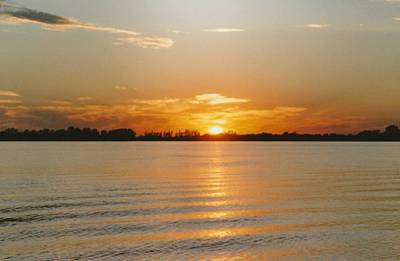 Photograph - Lake Ripley Sundown Litchfield Mn by Gene Linder