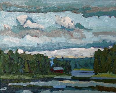 Painting - Lake Robinson Evening by Phil Chadwick