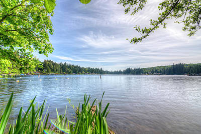 Photograph - Lake Roesiger by Spencer McDonald
