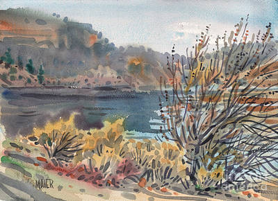 For Sale Painting - Lake Roosevelt by Donald Maier