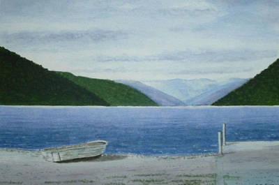Lake Rotoroa, South Island, New Zealand Art Print