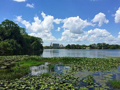 Photograph - Lake Rowena At Leu Gardens by Denise Mazzocco