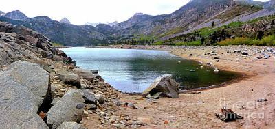 Photograph - Lake Sabrina 1 by Joe Lach
