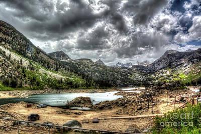 Photograph - Lake Sabrina 2 by Joe Lach