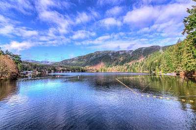 Art Print featuring the photograph Lake Samish by Spencer McDonald