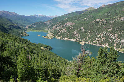 Pyrography - Lake San Cristobal by Aaron Spong