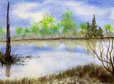 Painting - Lake Scene by Jamie Frier