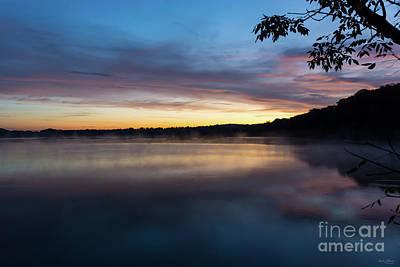 Photograph - Lake Springfield Autumn Sunrise by Jennifer White