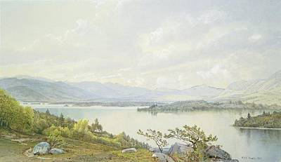Sandwich Painting - Lake Squam by William Trost