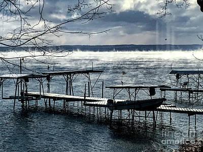 Photograph - Lake Steam by William Norton