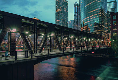 Photograph - Lake Street Bridge by Nisah Cheatham