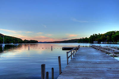Photograph - Lake Sunapee - Newbury Harbor by Joann Vitali