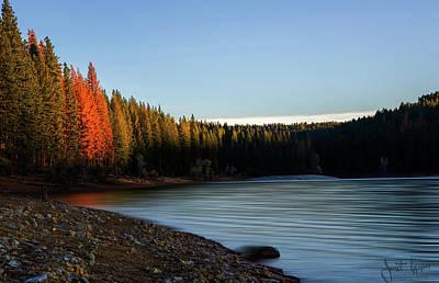 Photograph - Lake Sunrise  by Janet Kopper