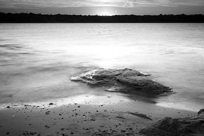 Photograph - Lake Sunset Ix by Ricky Barnard