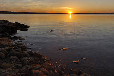 Photograph - Lake Sunset by Rob Graham