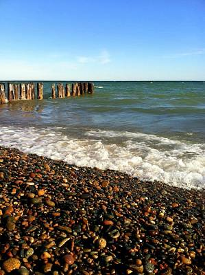 Photograph - Lake Superior At Whitefish Point by Michelle Calkins