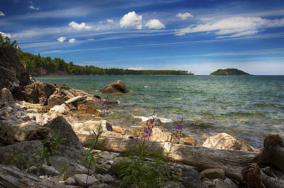 Photograph - Lake Superior by Dan Hefle