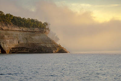 Photograph - Lake Superior Fogbank by Jack R Perry