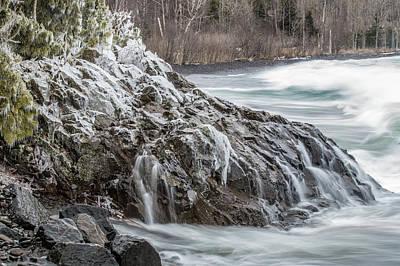 Photograph - Lake Superior Motion by Paul Freidlund