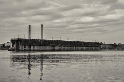 Photograph - Lake Superior Oar Dock by Dan Hefle