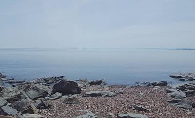 Photograph - Lake Superior Shore In Duluth, Minnesota  by Stephanie Hollingsworth