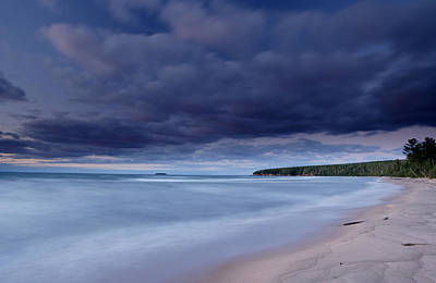 Photograph - Lake Superior Shoreline by Eric Foltz
