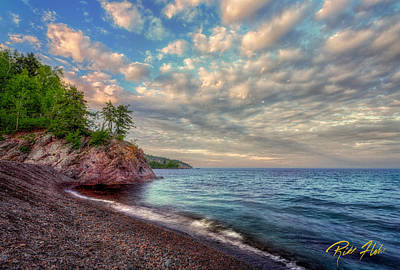 Photograph - Lake Superior Shores by Rikk Flohr