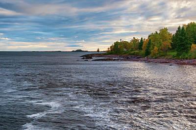 Photograph - Lake Superior by Steve Stuller