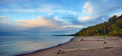 Photograph - Lake Superior Vista by Leda Robertson