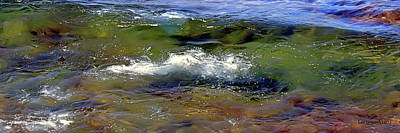 Riverstone Gallery Photograph - Lake Superior Wave by Gregory Steele