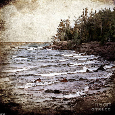 Lake Superior Waves Art Print