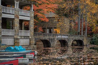 Photograph - Lake Susan In Fall by Joye Ardyn Durham