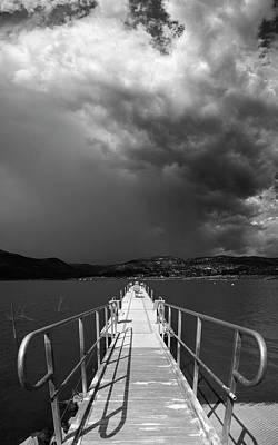 Photograph - Lake Sutherland Storm by William Dunigan