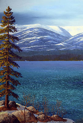 Painting - Lake Tahoe 1 by Frank Wilson