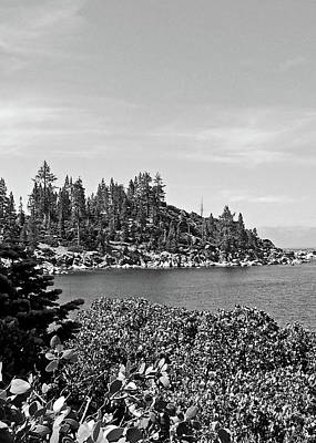 Photograph - Lake Tahoe No. 17-1 by Sandy Taylor