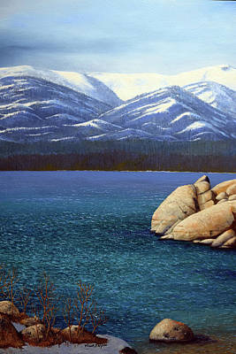 Painting - Lake Tahoe 2 by Frank Wilson