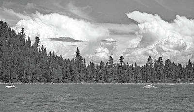 Photograph - Lake Tahoe No. 3-1 by Sandy Taylor