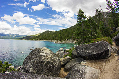Photograph - Lake Tahoe  by Alexis Lee Scott